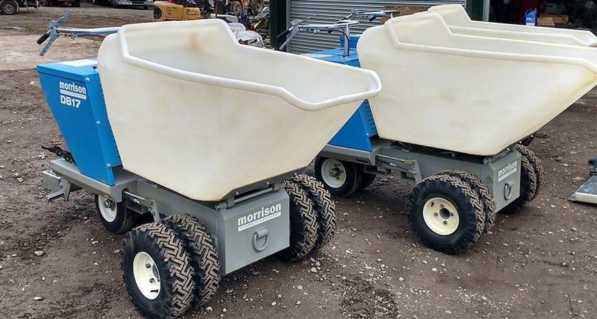 Concrete Power Buggies - Concrete Buggy for sale and for hire