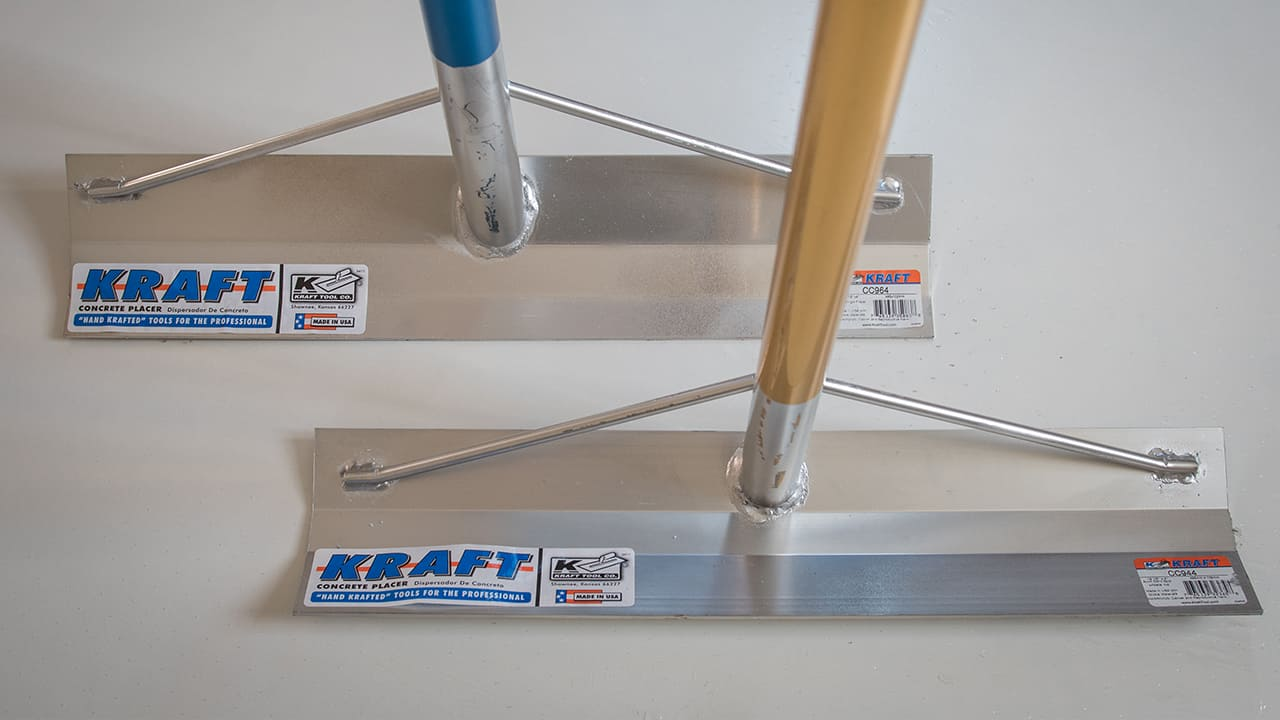 Kraft Tools Béton Placers