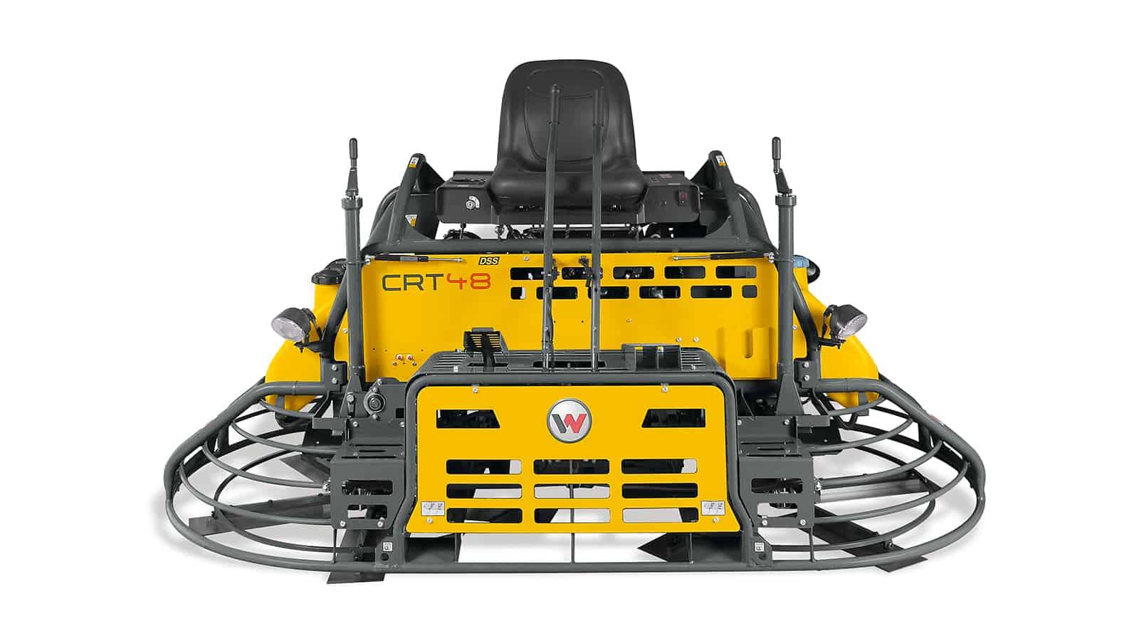 Wacker Neuson CRT48 Ride On Power Trowel Float - For sale or hire