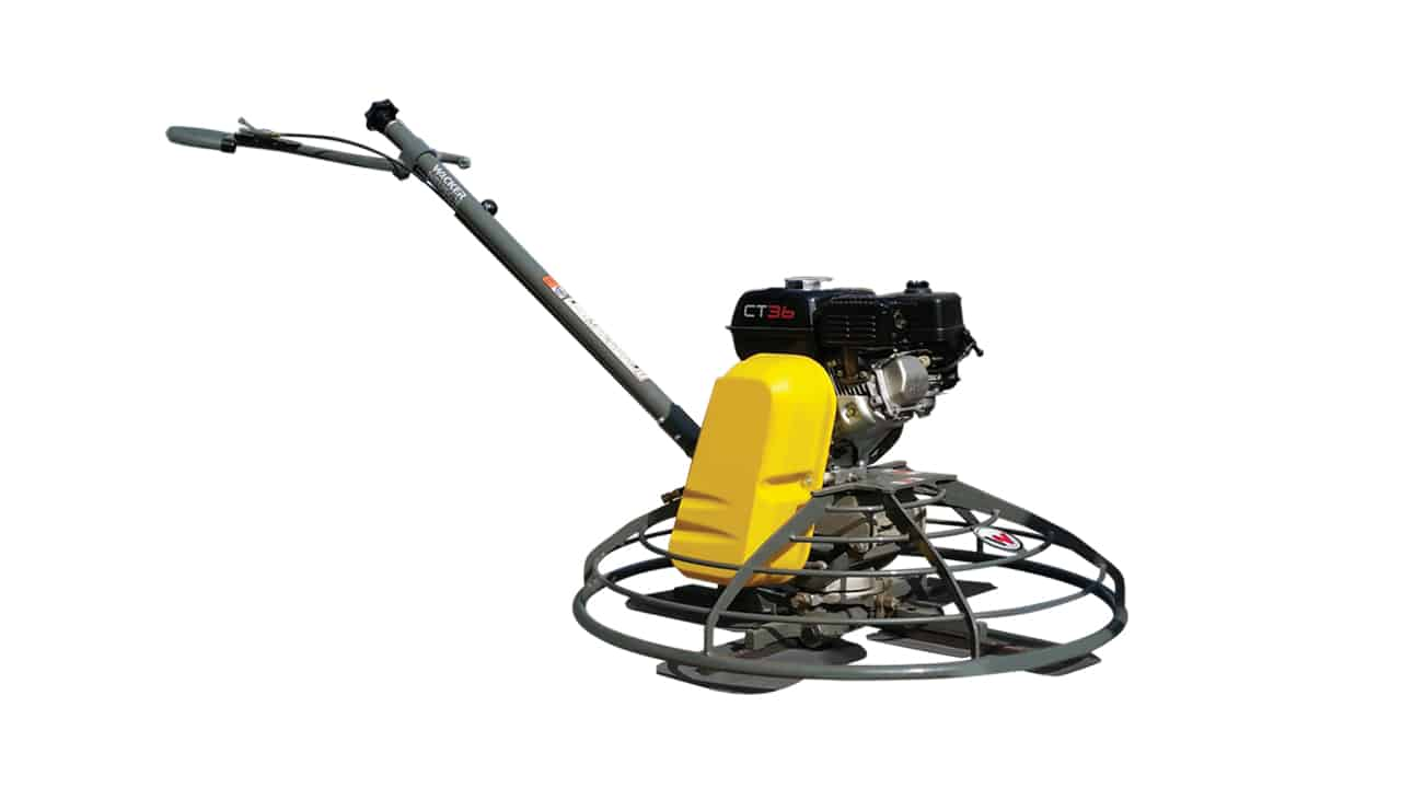 Wacker Neuson Walk-Behind CT36 Power Trowel